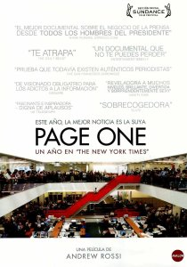Page One: Un año en The New York Times
