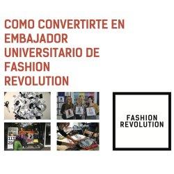 Cómo convertirte en embajador Fashion Revolution